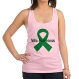 Mito Awareness Green Ribbon Racerback Tank Top