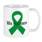 Mito Awareness Green Ribbon Mug