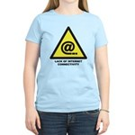 Women's Lack of Internet Connectivity T-Shirt