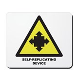 Self-Replicating Device Mousepad