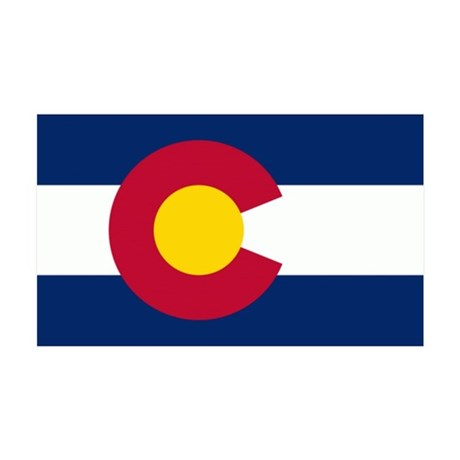 colorado 35x21 Wall Decal