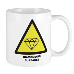 Diamondoid Surfaces Mug