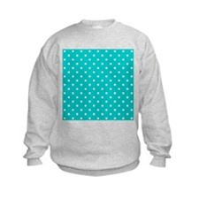 Teal dot pattern. Jumper Sweater