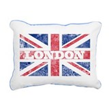 London2 Rectangular Canvas Pillow