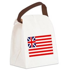Grand Union Flag 1775.png Canvas Lunch Bag