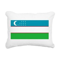Uzbekistan.svg.png Rectangular Canvas Pillow