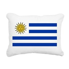 Uruguay.png Rectangular Canvas Pillow