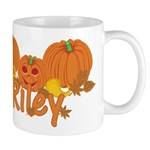 Halloween Pumpkin Riley Mug