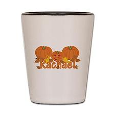 Halloween Pumpkin Rachael Shot Glass