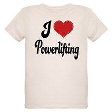 I Love Powerlifting T-Shirt