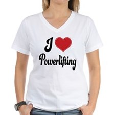 I Love Powerlifting Shirt
