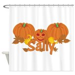 Halloween Pumpkin Sally Shower Curtain