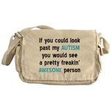 Look Past My Autism Messenger Bag