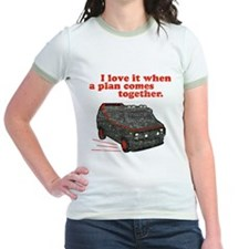 A-Team van & quote Ash Grey T-Shirt T-Shirt