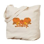 Halloween Pumpkin Shelly Tote Bag
