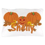 Halloween Pumpkin Shelly Pillow Case