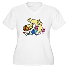 Three Yellow Lab Puppies T-Shirt