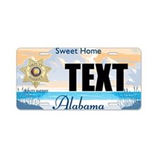 Alabama Deputy Sheriff Custom License Plate