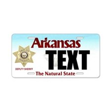 Arkansas Deputy Sheriff Custom License Plate
