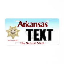 Arkansas Deputy Sheriff Custom License Plate