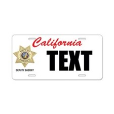 California Deputy Sheriff Custom License Plate