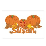 Halloween Pumpkin Susan Postcards (Package of 8)
