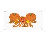 Halloween Pumpkin Susan Banner
