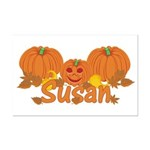 Halloween Pumpkin Susan Mini Poster Print