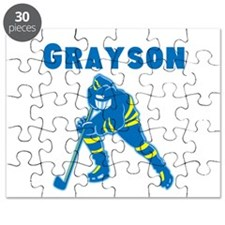 Personalized Hockey Puzzle