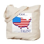 I've Got Talent Tote Bag
