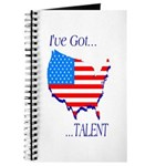 I've Got Talent Journal