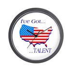 I've Got Talent Wall Clock