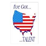 I've Got Talent Postcards (Package of 8)
