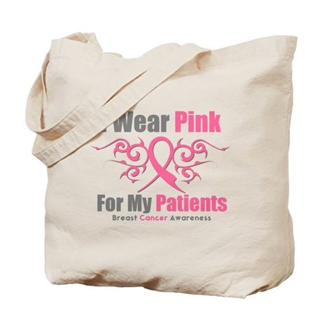 Pink Ribbon Tribal - Patients Tote Bag