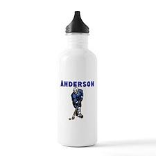 Personalized Hockey Sports Water Bottle