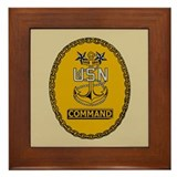 Command Master Chief<BR> Framed Tile 3