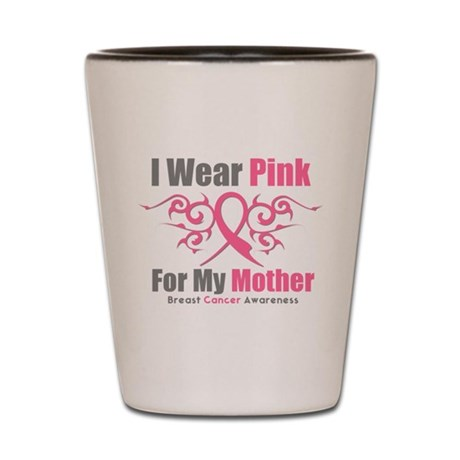 Pink Ribbon Tribal - Mother Shot Glass