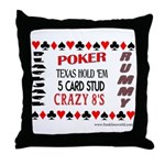 Cards Design II.jpg Throw Pillow