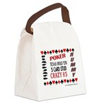 Cards Design II.jpg Canvas Lunch Bag