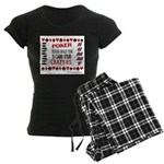 Cards Design II.jpg Women's Dark Pajamas