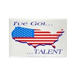 I've Got Talent Rectangle Magnet (10 pack)