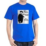John Wilkes Booth Grey Tee. T-Shirt