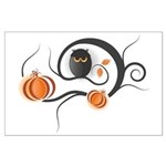 Whimsical Halloween Large Poster