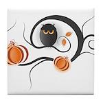Whimsical Halloween Tile Coaster