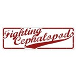 Miskatonic Fighting Cephalopods Bumper Sticker