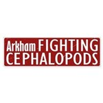 Arkham Fighting Cephalopods Bumper Sticker