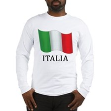Italia Flag Long Sleeve T-Shirt