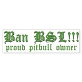 Anti-BSL custom Bumper Bumper Sticker