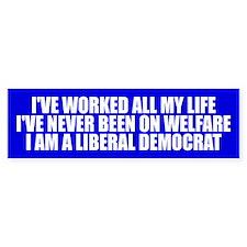 Liberal Democrat Bumper Sticker