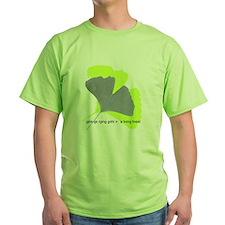 ginkgo, a living fossil T-Shirt